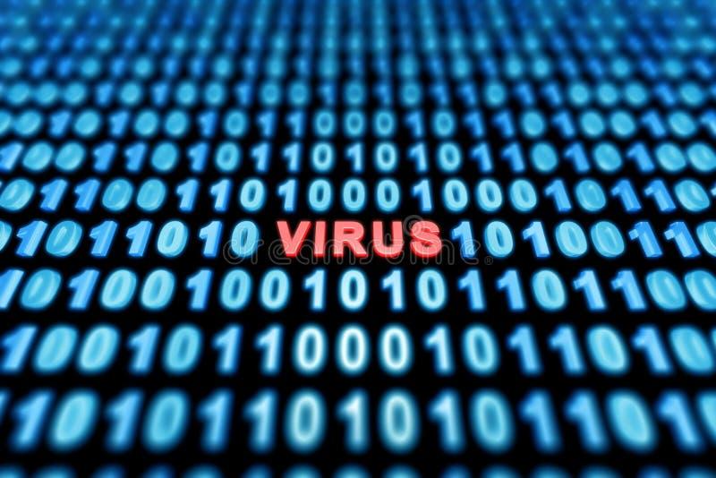 Υπόβαθρο ιών διανυσματική απεικόνιση
