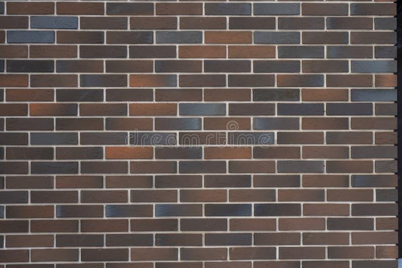 Υπόβαθρο, καφετί τούβλο τοίχων, βαυαρική τεκτονική στοκ εικόνα