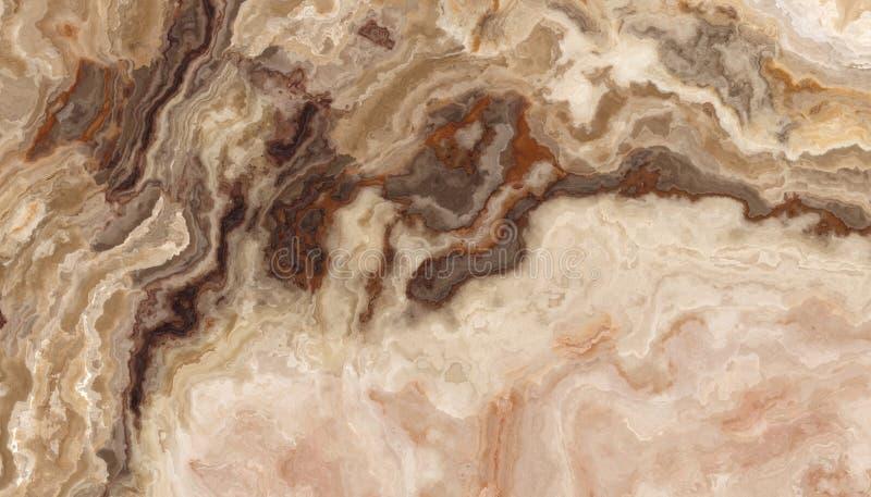 Υπόβαθρο κεραμιδιών Onyx μελιού απεικόνιση αποθεμάτων