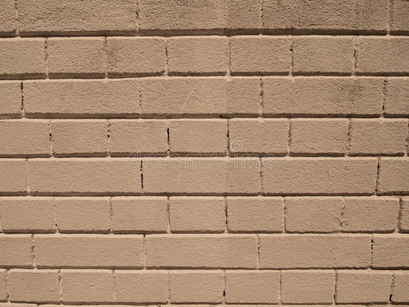 Υπόβαθρο κρέμας τούβλου στοκ φωτογραφία