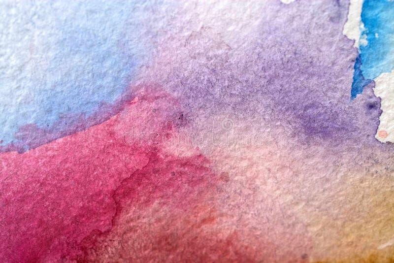 Υπόβαθρο κτυπημάτων χρωμάτων στοκ εικόνα