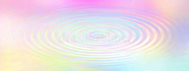 Υπόβαθρο κυματισμών νερού ουράνιων τόξων στοκ εικόνες