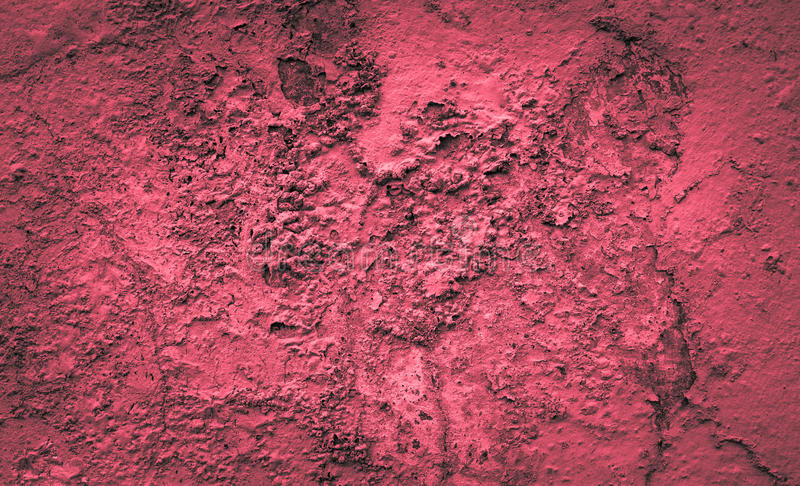 Υπόβαθρο κόκκινου χρώματος τσιμέντου τοίχων τσιμέντου στοκ φωτογραφίες με δικαίωμα ελεύθερης χρήσης