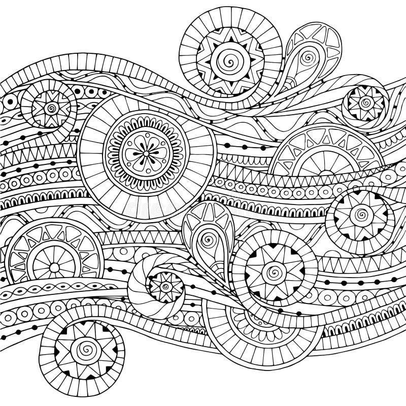 Υπόβαθρο με τα γεωμετρικά στοιχεία μωσαϊκών απεικόνιση αποθεμάτων