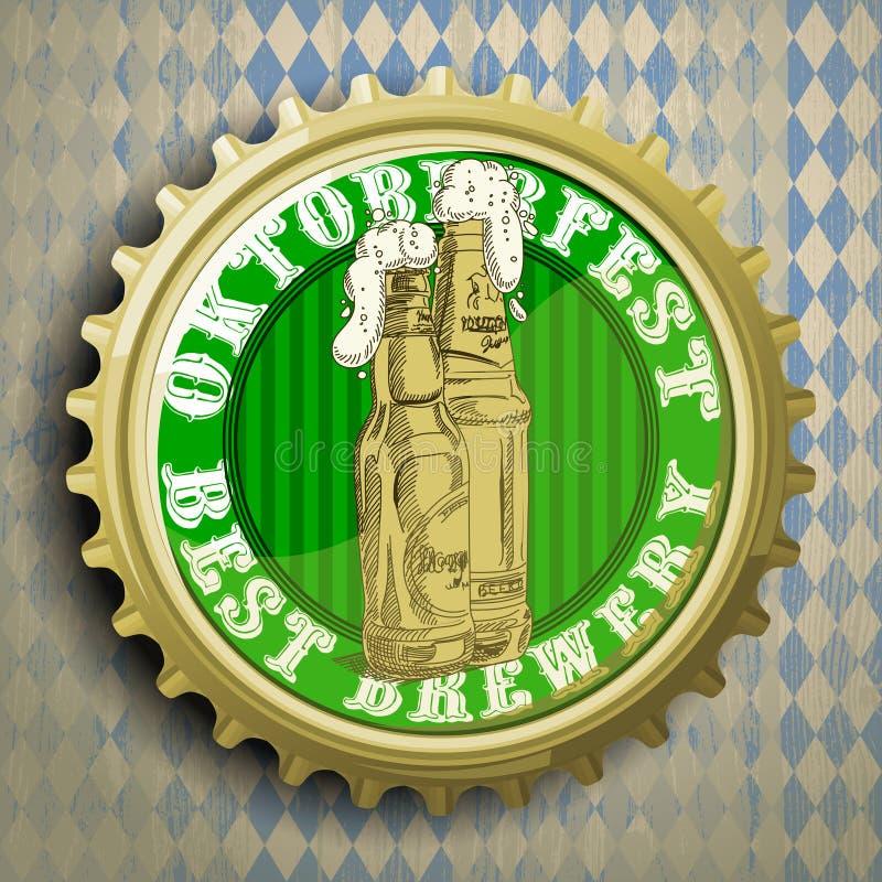 Υπόβαθρο με την μπύρα ΚΑΠ απεικόνιση αποθεμάτων