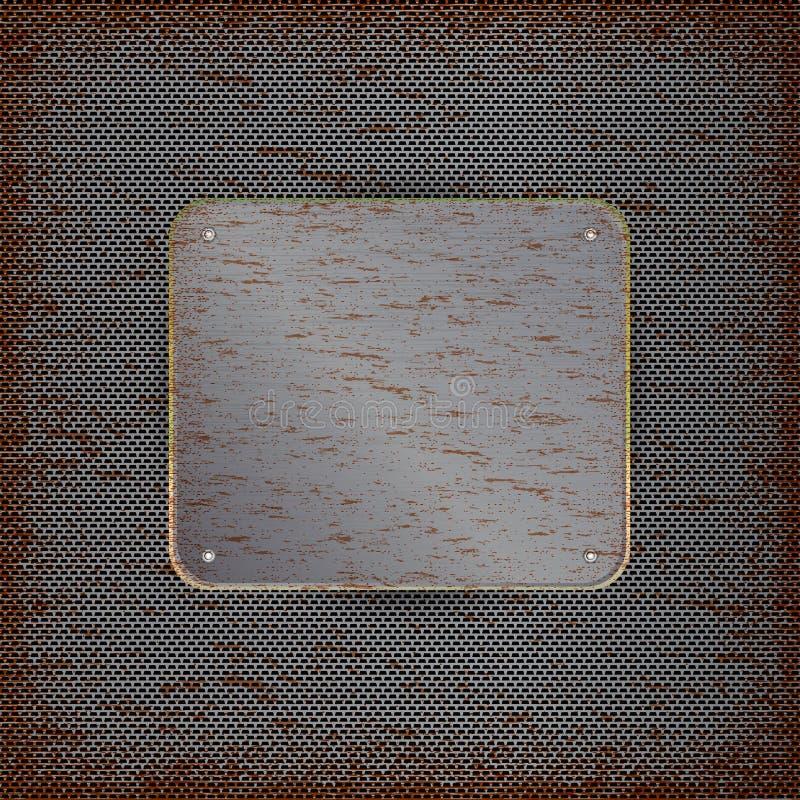 Υπόβαθρο με την οξυδωμένη σύσταση μετάλλων απεικόνιση αποθεμάτων