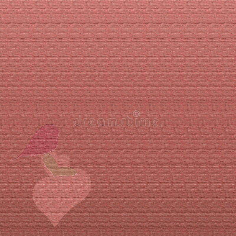 Υπόβαθρο με τη έγκυο γυναίκα από τις καρδιές, δημιουργικός και τη σύσταση απεικόνιση αποθεμάτων