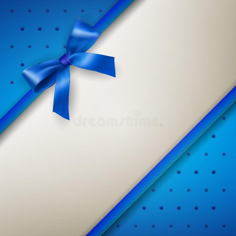 Υπόβαθρο με το μπλε τόξων διανυσματική απεικόνιση