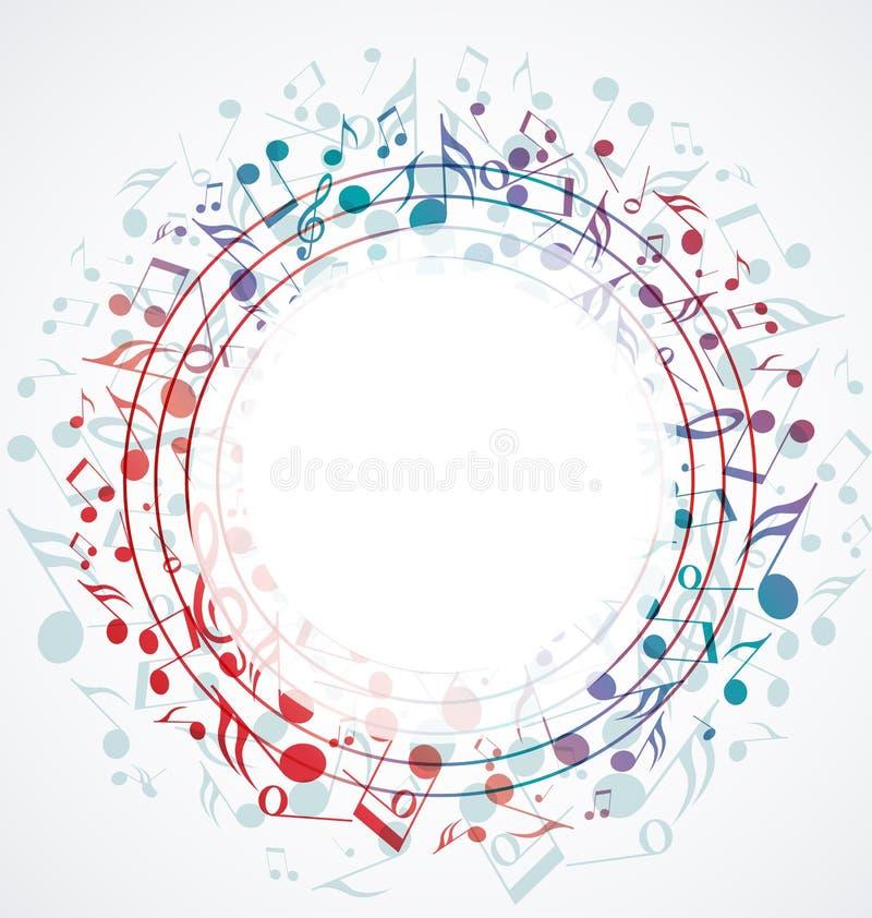 Υπόβαθρο μουσικής απεικόνιση αποθεμάτων