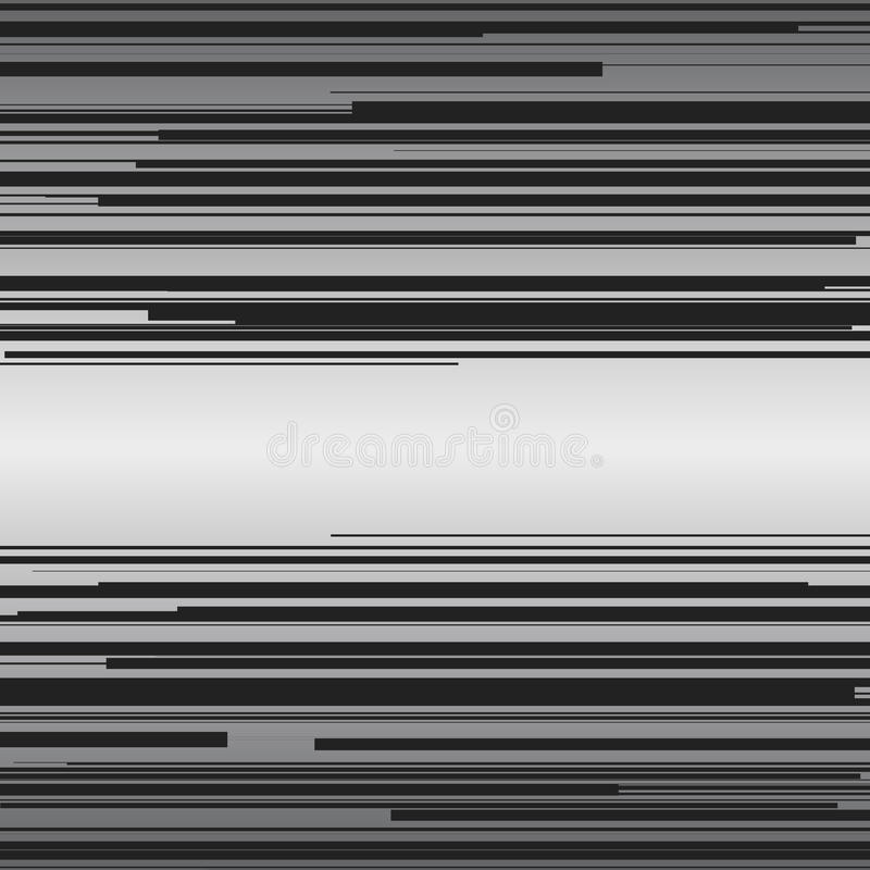 Υπόβαθρο οριζόντιων γραμμών ταχύτητας κόμικς διανυσματική απεικόνιση