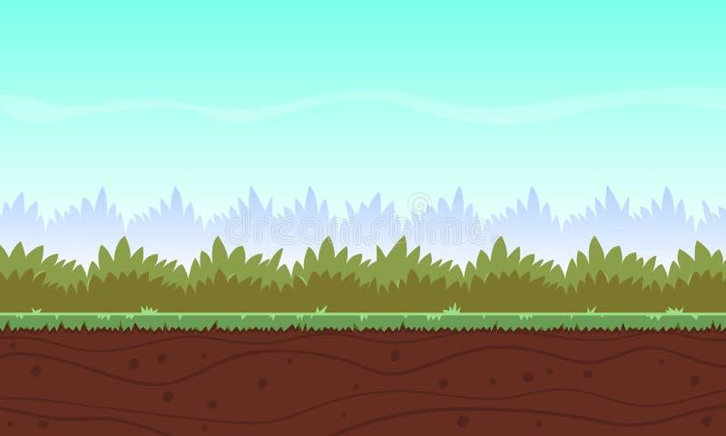 Υπόβαθρο παιχνιδιών κινούμενων σχεδίων ελεύθερη απεικόνιση δικαιώματος