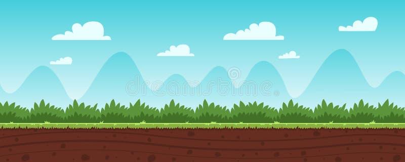 Υπόβαθρο παιχνιδιών κινούμενων σχεδίων διανυσματική απεικόνιση
