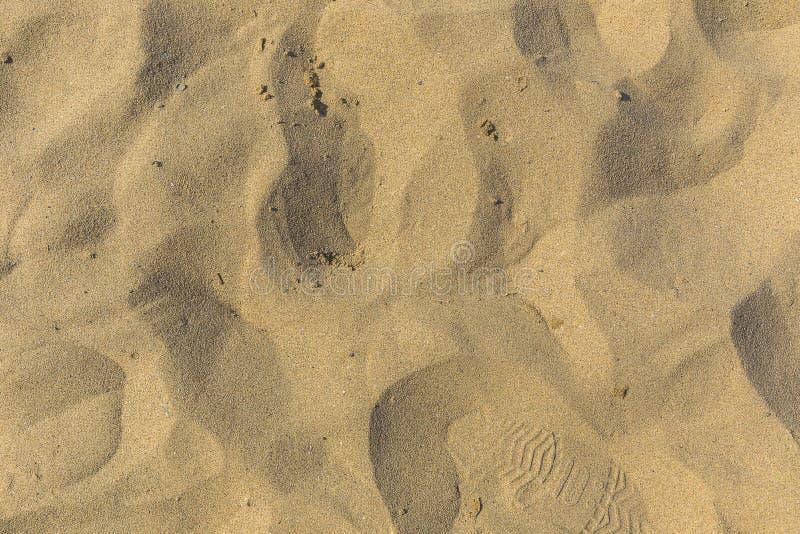 Υπόβαθρο παραλιών sand στοκ φωτογραφία