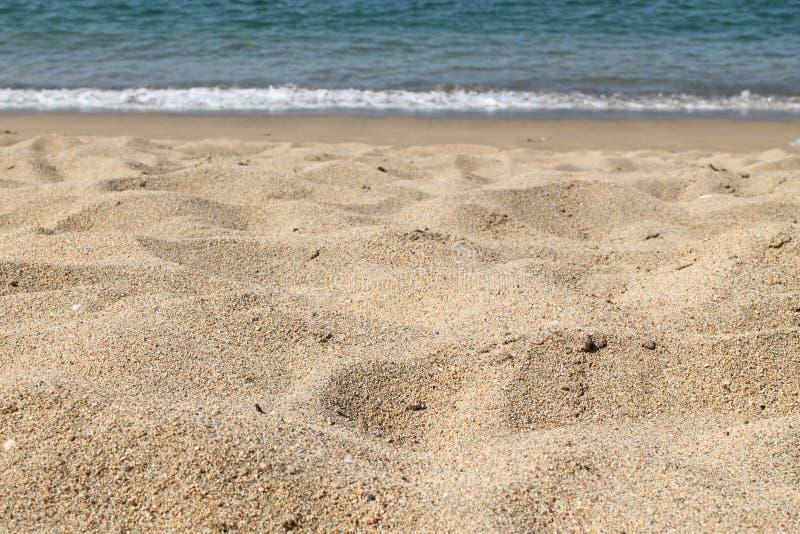 Υπόβαθρο παραλιών sand στοκ φωτογραφία με δικαίωμα ελεύθερης χρήσης
