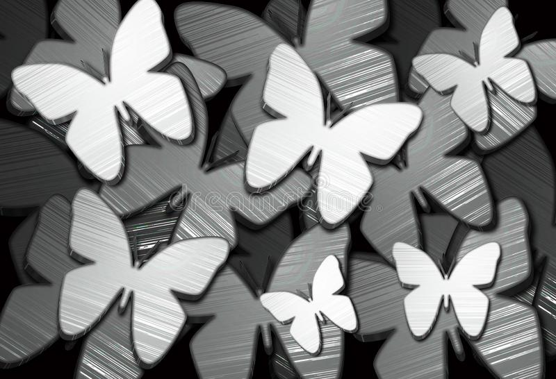 υπόβαθρο 1 πεταλούδων στοκ φωτογραφία
