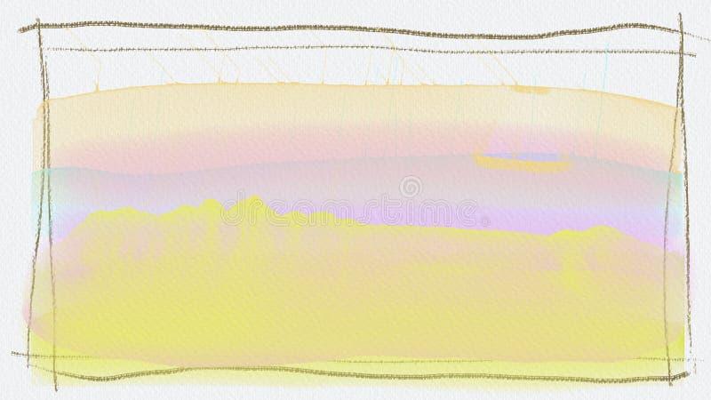 Υπόβαθρο που δημιουργείται με το ηλεκτρονικό watercolor στοκ εικόνες