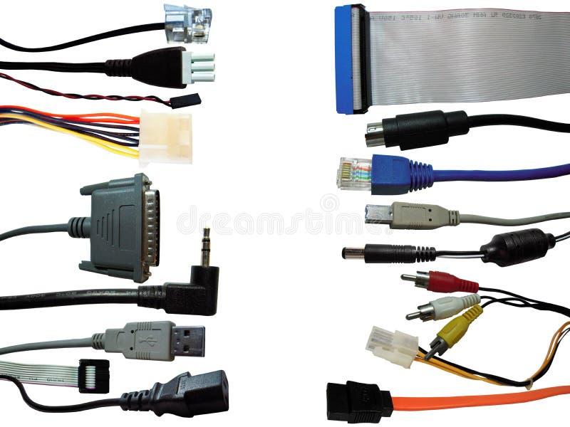 Υπόβαθρο συνδετήρων υπολογιστών στοκ φωτογραφία με δικαίωμα ελεύθερης χρήσης