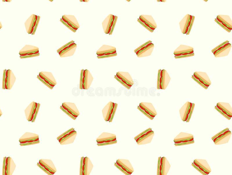 Υπόβαθρο σχεδίων σάντουιτς στοκ φωτογραφίες με δικαίωμα ελεύθερης χρήσης