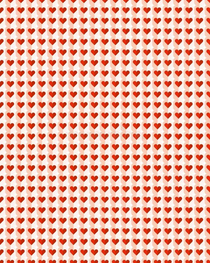 Υπόβαθρο σχεδίων καρδιών διανυσματική απεικόνιση