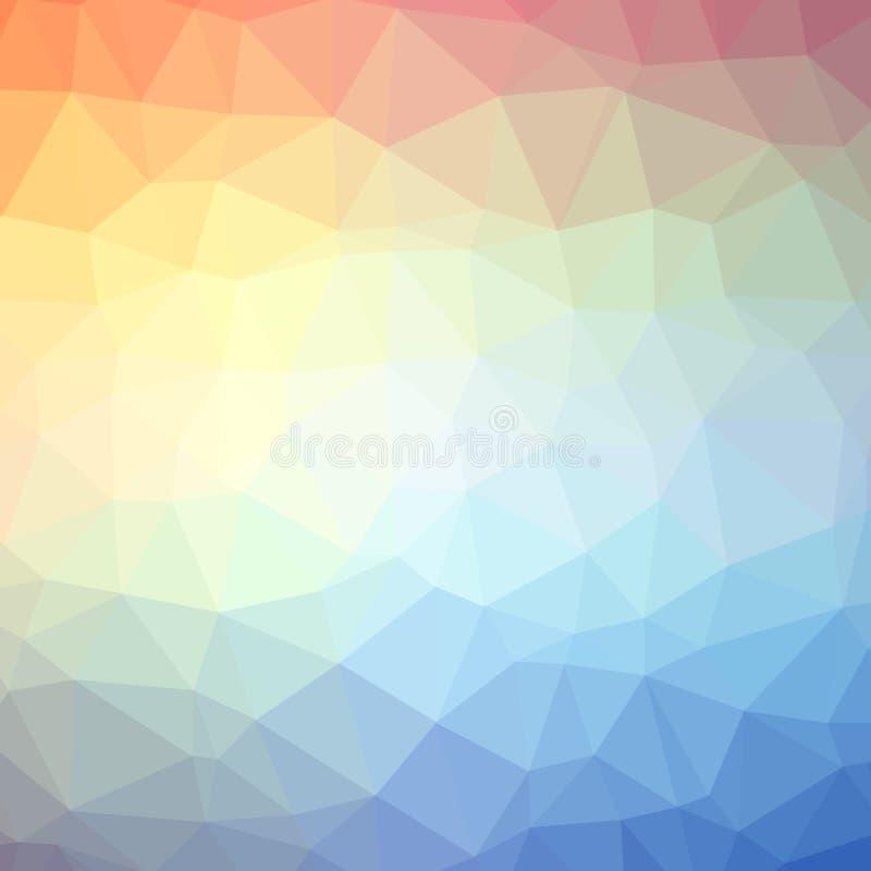 Υπόβαθρο σχεδίων τριγώνων ελεύθερη απεικόνιση δικαιώματος