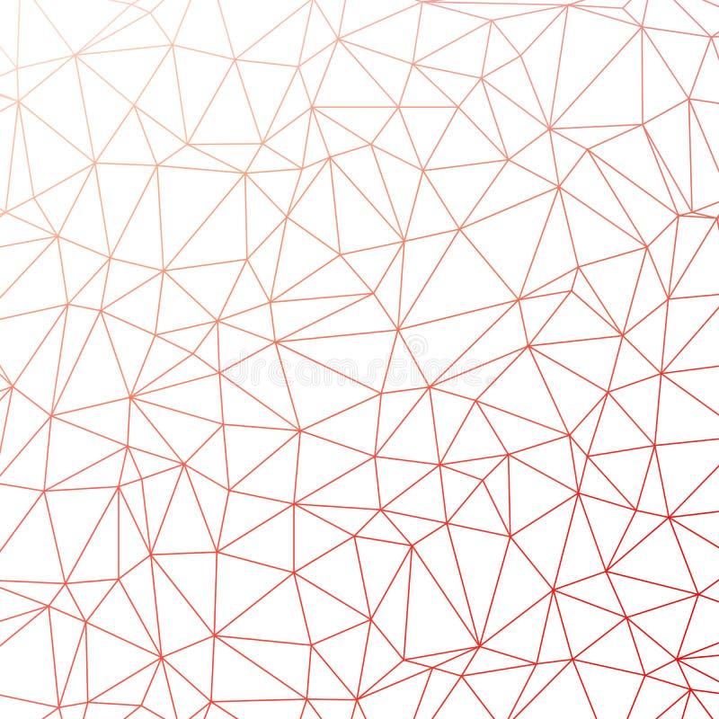 Υπόβαθρο σχεδίων τριγώνων διανυσματική απεικόνιση