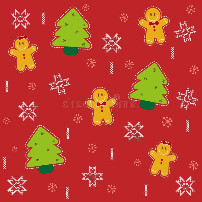 Υπόβαθρο σχεδίων Χριστουγέννων ελεύθερη απεικόνιση δικαιώματος