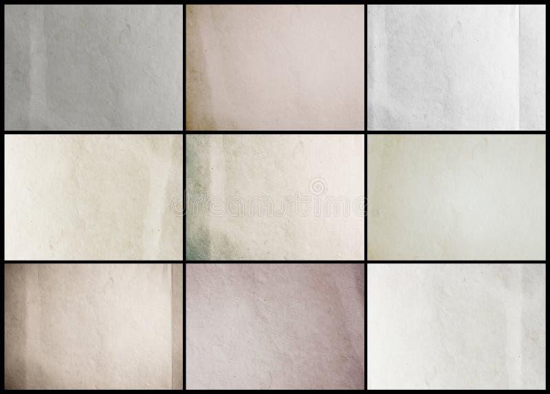 Υπόβαθρο σύστασης εγγράφου συλλογής στοκ εικόνες