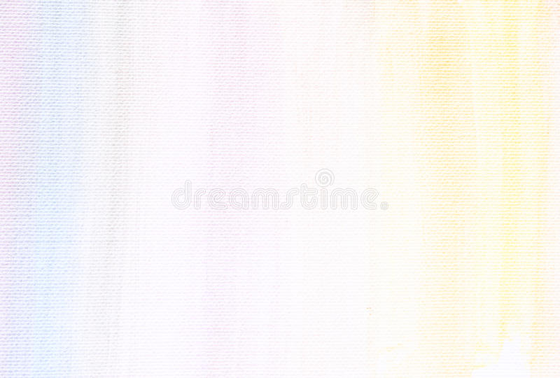 Υπόβαθρο σύστασης καμβά με τα λεπτά λωρίδες watercolor στοκ φωτογραφία