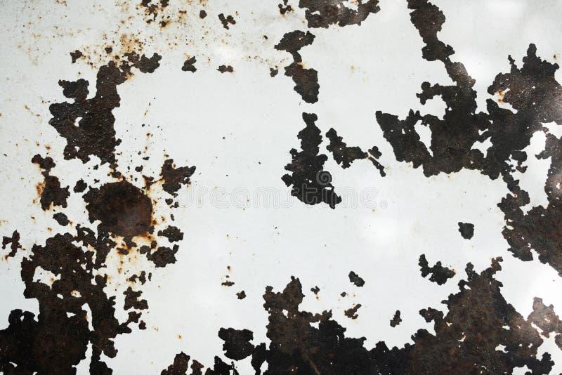 Υπόβαθρο σύστασης μετάλλων Grunge Κινηματογράφηση σε πρώτο πλάνο που πυροβολείται της επιφάνειας στο πάτωμα ή τον τοίχο Παλαιά κα στοκ φωτογραφίες με δικαίωμα ελεύθερης χρήσης