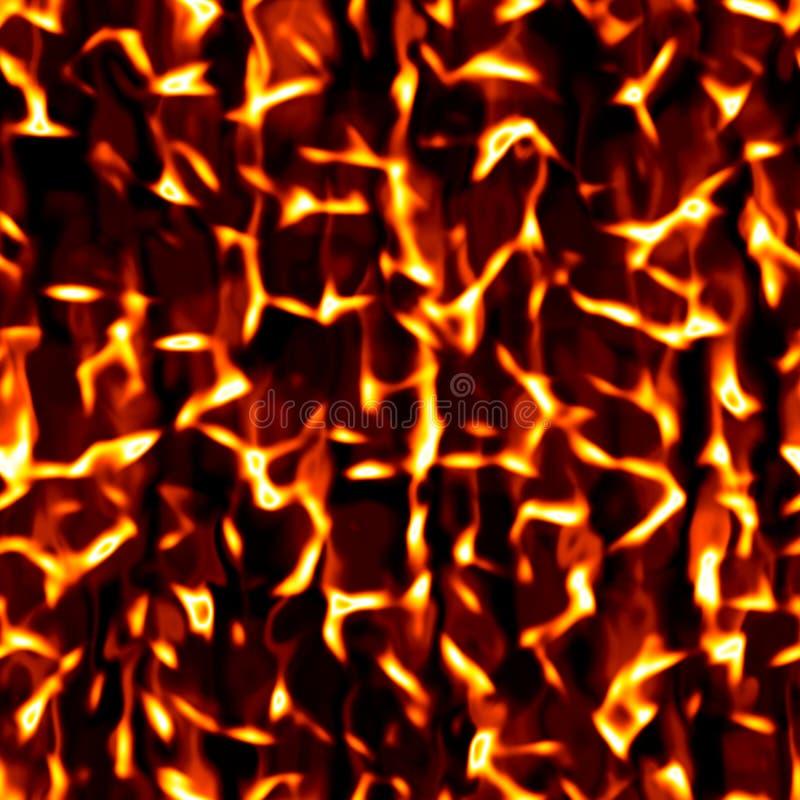 Υπόβαθρο σύστασης φλογών πυρκαγιάς φλόγας Υψηλής ευκρίνειας άνευ ραφής polygonal στρογγυλή σύσταση πλέγματος πλέγματος κυττάρων γ στοκ φωτογραφία με δικαίωμα ελεύθερης χρήσης