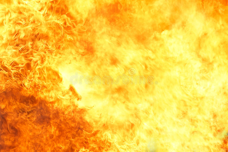 Υπόβαθρο σύστασης φλογών πυρκαγιάς στοκ εικόνα με δικαίωμα ελεύθερης χρήσης