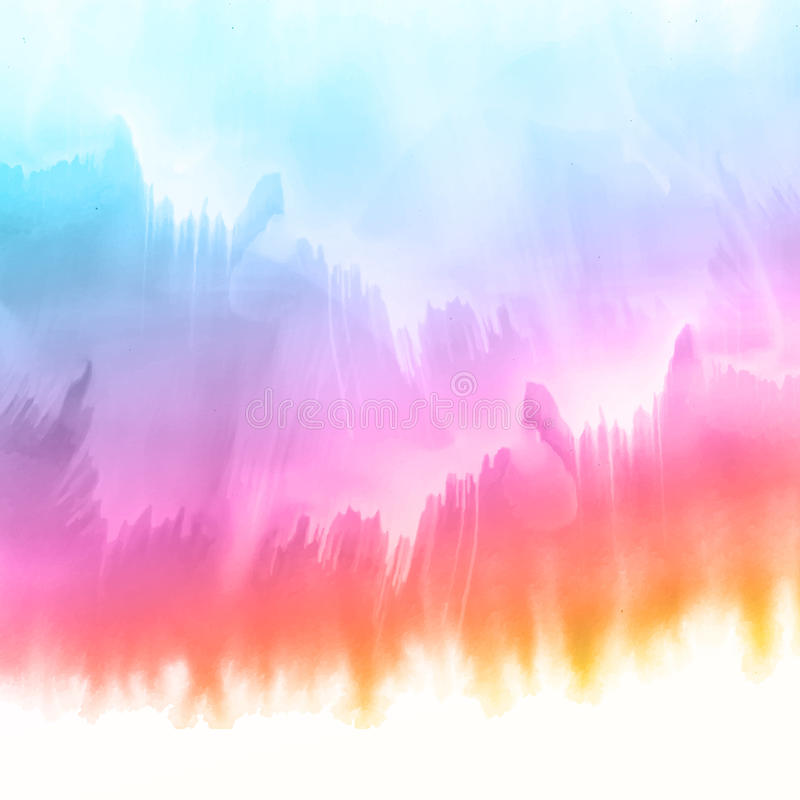 Υπόβαθρο σύστασης Watercolour ελεύθερη απεικόνιση δικαιώματος