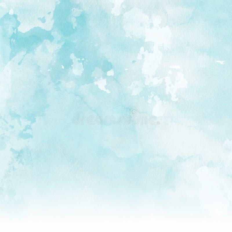Υπόβαθρο σύστασης Watercolour απεικόνιση αποθεμάτων