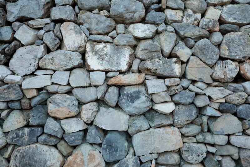 Υπόβαθρο της φυσικής φωτογραφίας σύστασης τοίχων πετρών στοκ φωτογραφία με δικαίωμα ελεύθερης χρήσης