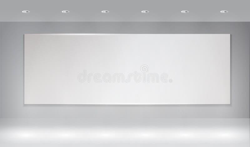 Υπόβαθρο τοίχων με το ελαφρύ σημείο στοκ εικόνα με δικαίωμα ελεύθερης χρήσης