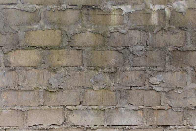 Υπόβαθρο τοίχων φραγμών της Cinder στοκ φωτογραφία με δικαίωμα ελεύθερης χρήσης