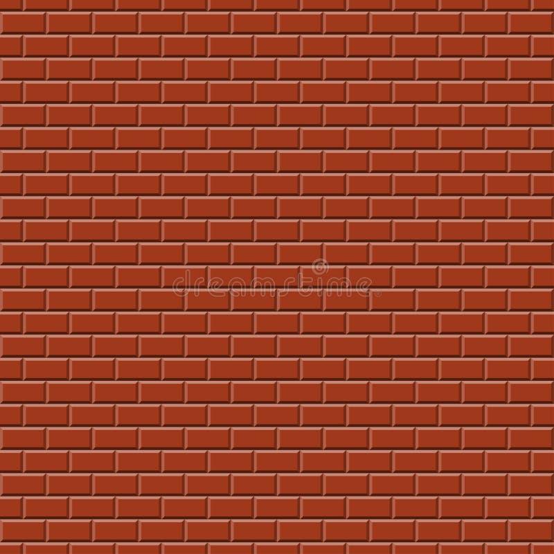 Υπόβαθρο τοίχων RED-BROWN - ατέλειωτα ελεύθερη απεικόνιση δικαιώματος