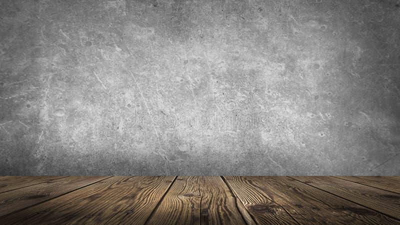 Υπόβαθρο του κενού δωματίου, ξύλινο πάτωμα στοκ φωτογραφίες με δικαίωμα ελεύθερης χρήσης