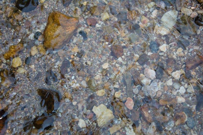 Υπόβαθρο του νερού και της πέτρας στοκ εικόνες με δικαίωμα ελεύθερης χρήσης