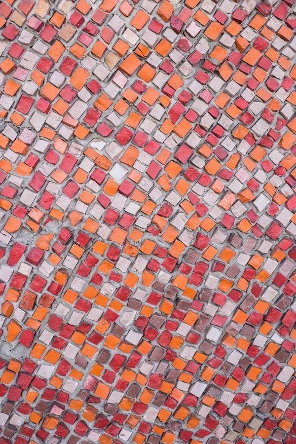 Υπόβαθρο του πολύχρωμου μωσαϊκού στοκ φωτογραφία