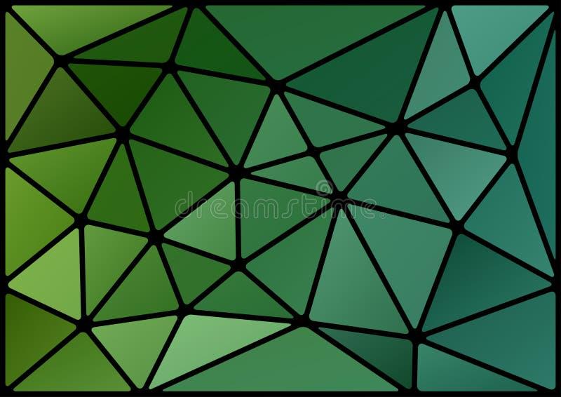 Υπόβαθρο τριγώνων διανυσματική απεικόνιση