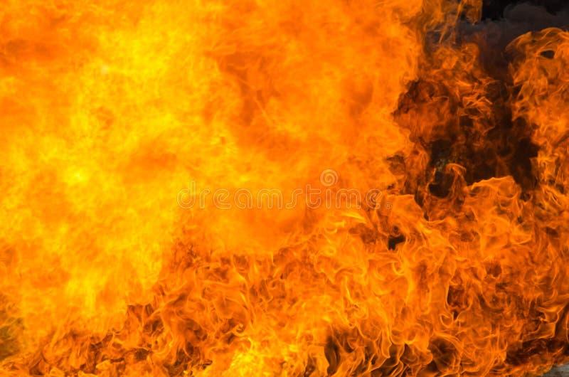 Υπόβαθρο φλογών πυρκαγιάς φλόγας στοκ φωτογραφίες με δικαίωμα ελεύθερης χρήσης