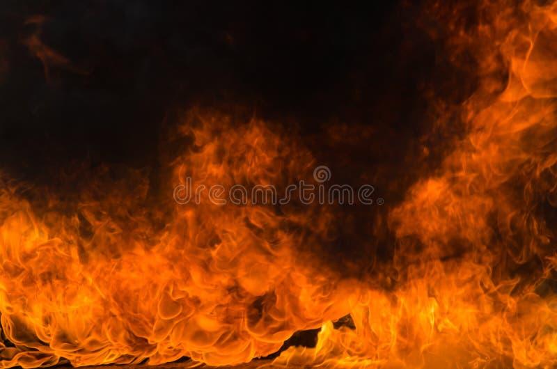 Υπόβαθρο φλογών πυρκαγιάς φλόγας στοκ εικόνες