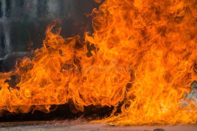 Υπόβαθρο φλογών πυρκαγιάς φλόγας στοκ φωτογραφίες