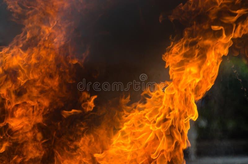 Υπόβαθρο φλογών πυρκαγιάς φλόγας στοκ φωτογραφία με δικαίωμα ελεύθερης χρήσης