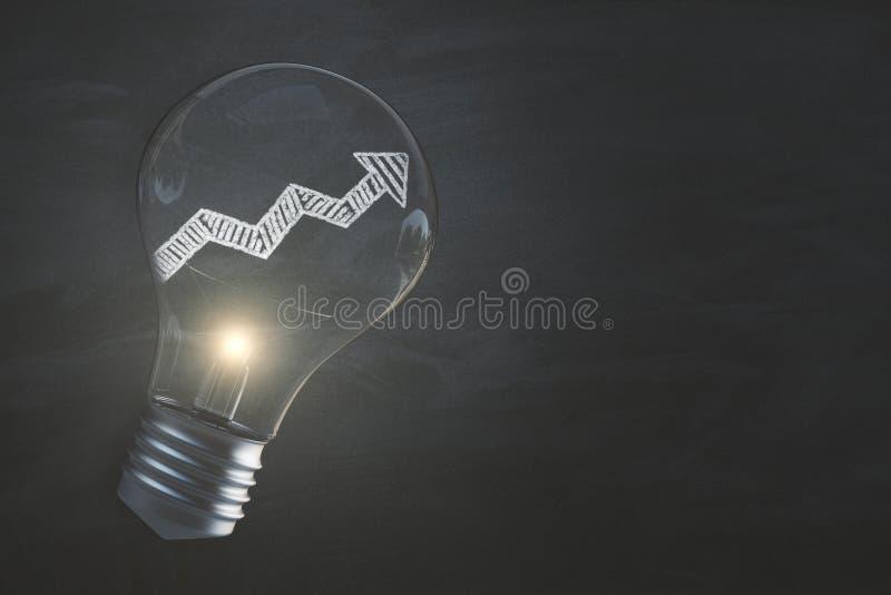 Υπόβαθρο χρηματοδότησης, επιτυχίας και ιδέας απεικόνιση αποθεμάτων