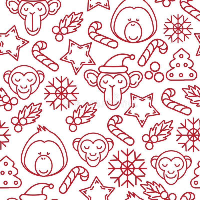 Υπόβαθρο Χριστουγέννων, άνευ ραφής επικεράμωση, μεγάλη επιλογή για το σχέδιο τυλίγοντας εγγράφου ελεύθερη απεικόνιση δικαιώματος