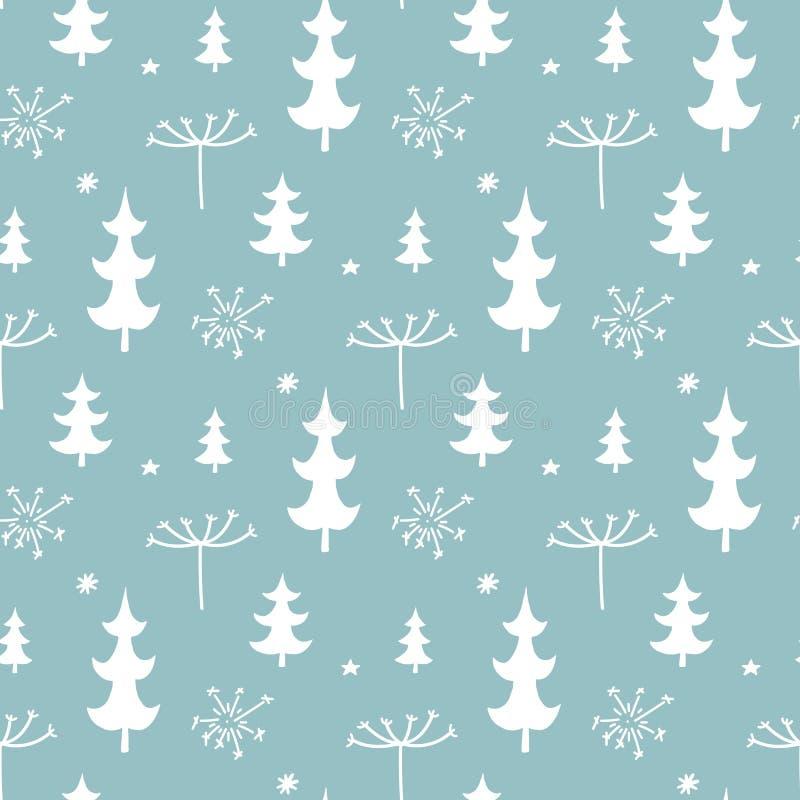 Υπόβαθρο Χριστουγέννων, άνευ ραφής τρύγος σύστασης σχεδίων επικεράμωσης ελεύθερη απεικόνιση δικαιώματος