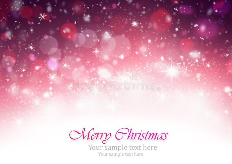 Υπόβαθρο Χριστουγέννων διανυσματική απεικόνιση
