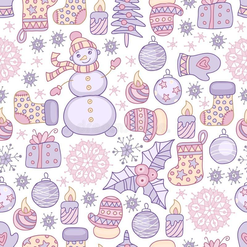 Υπόβαθρο Χριστουγέννων απεικόνιση αποθεμάτων
